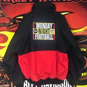 Other - Vintage ABC NFL Monday Night Football Zip Jacket